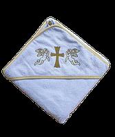 Полотенце для крещения с уголком 92*92  380г/м2 (TM Zeron), Турция, фото 1