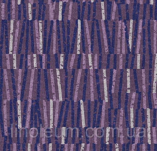 Ковролин флокированное покрытие Flotex vision lines 540014 Vector Grape