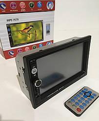 АвтомагнитолаMP5, 7575,2Din экран 7'' съемная панель USB