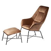 Кресло с подставкой для ног Адель