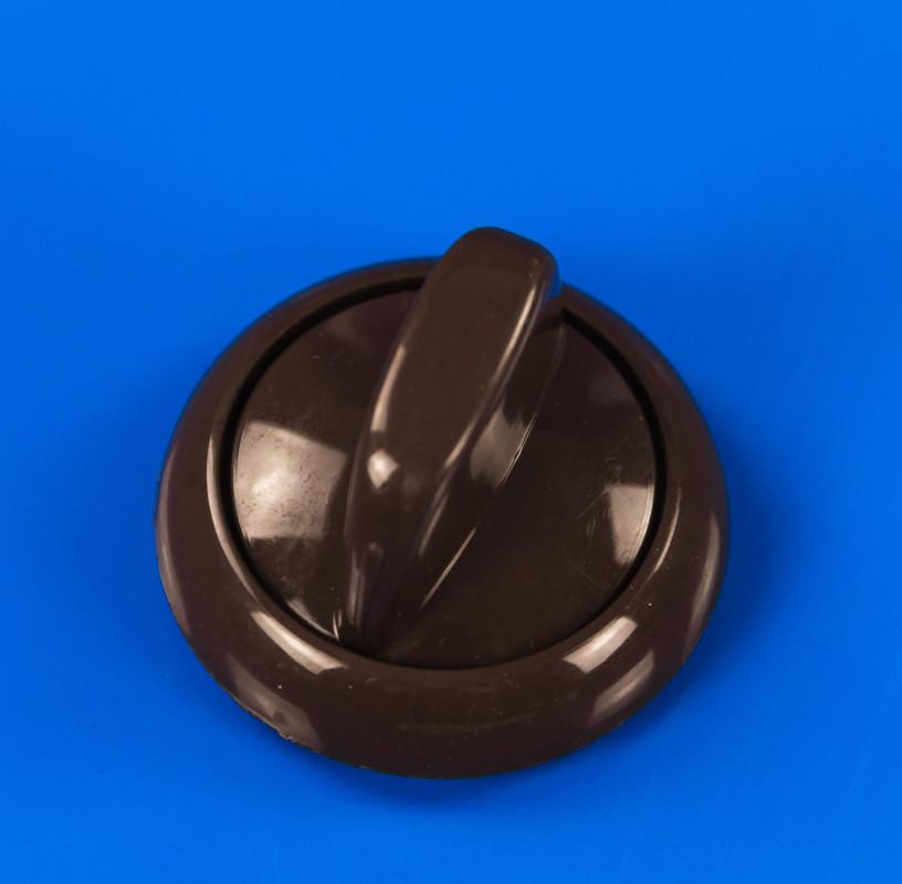 Ручка регулировки коричневая для плиты Greta