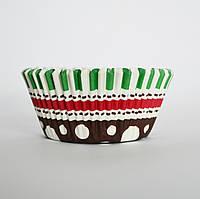 Капсула для кексов(зелено-коричневая) №13 (25 шт.), фото 1