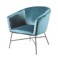 Модное бархатное кресло Lady Club Chair