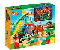 Конструктор JDLT 5409 Динозавры 43 детали