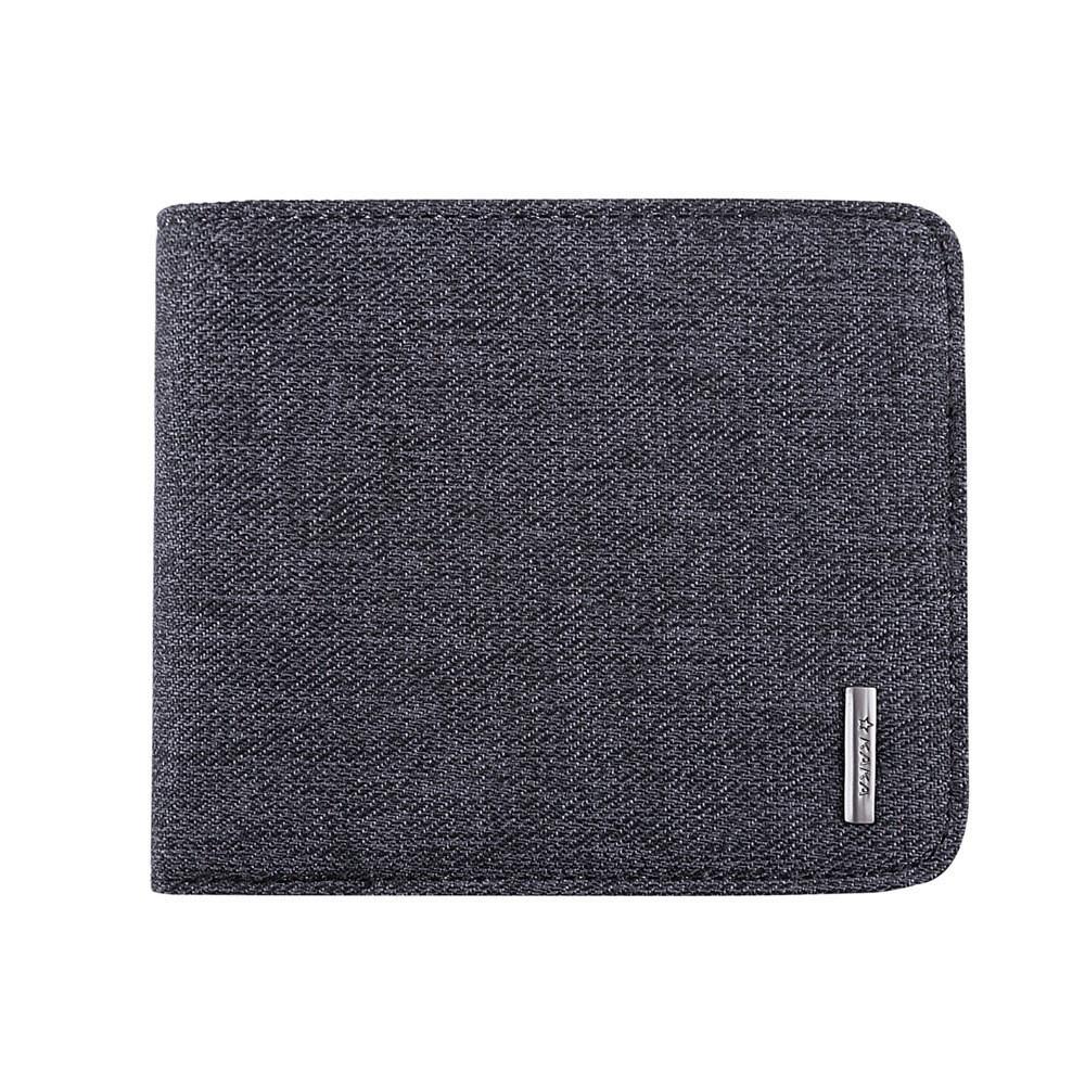 Кошелек (портмоне) из ткани Kaka 9999, серый