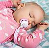 Лента для пустышки с прищепкой BabyOno (Розовая), фото 4