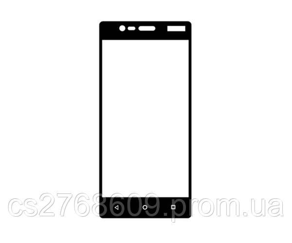 Защитное стекло / Захисне скло Nokia 3 чорний 6D Full