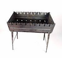 Мангал Валіза сталь 2мм на 10 шампурів