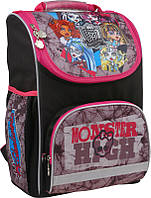Каркасный ранец школьный ортопедический 701 Monster High Kite