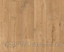 1548-Пиленыи дуб натур 32 кл, 8 мм Коллекция Eligna Wide  ламинат Quick-Step ( Квик –степ)