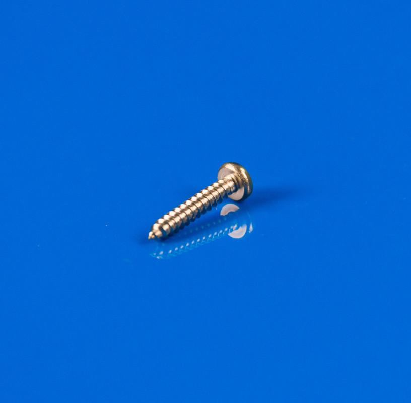 Саморез по металлу из нержавеющей стали 2,9х16мм (полукруглая шляпка) DIN 7981
