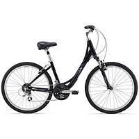 Городской женский велосипед Giant Sedona DX W черный S/16 (GT)