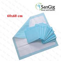Пеленки медицинские впитывающие, нестерильные 21VIKT 60Х60 см (уп/10шт)