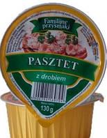 Паштет мясной 130 грамм ТМ Familiine Польша