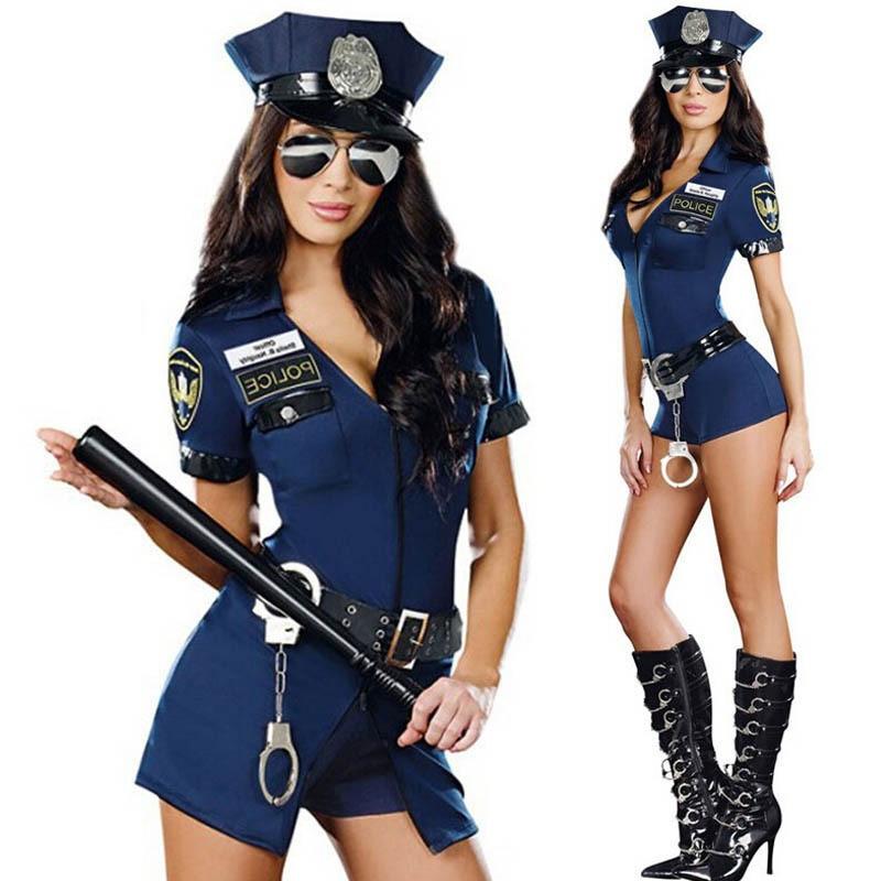 Сексуальный игровой костюм полицейской   Сексуальний ігровий костюм поліцейської