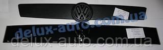 Зимняя верхняя накладка на решетку глянец на прямую морду на Volkswagen T4 Transporter