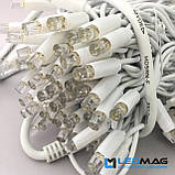 Светодиодная гирлянда String Нить 10flash 10м 100LED Каучук PROF Зеленый, фото 8