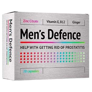 Men's Defence  (Менс Дефенс) - капсулы от простатита