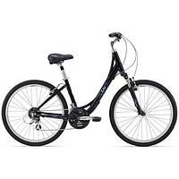 Городской женский велосипед Giant Sedona DX W черный M/18 (GT)