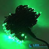 Светодиодная гирлянда String Нить 10flash 10м 100LED Каучук PROF Зеленый, фото 2