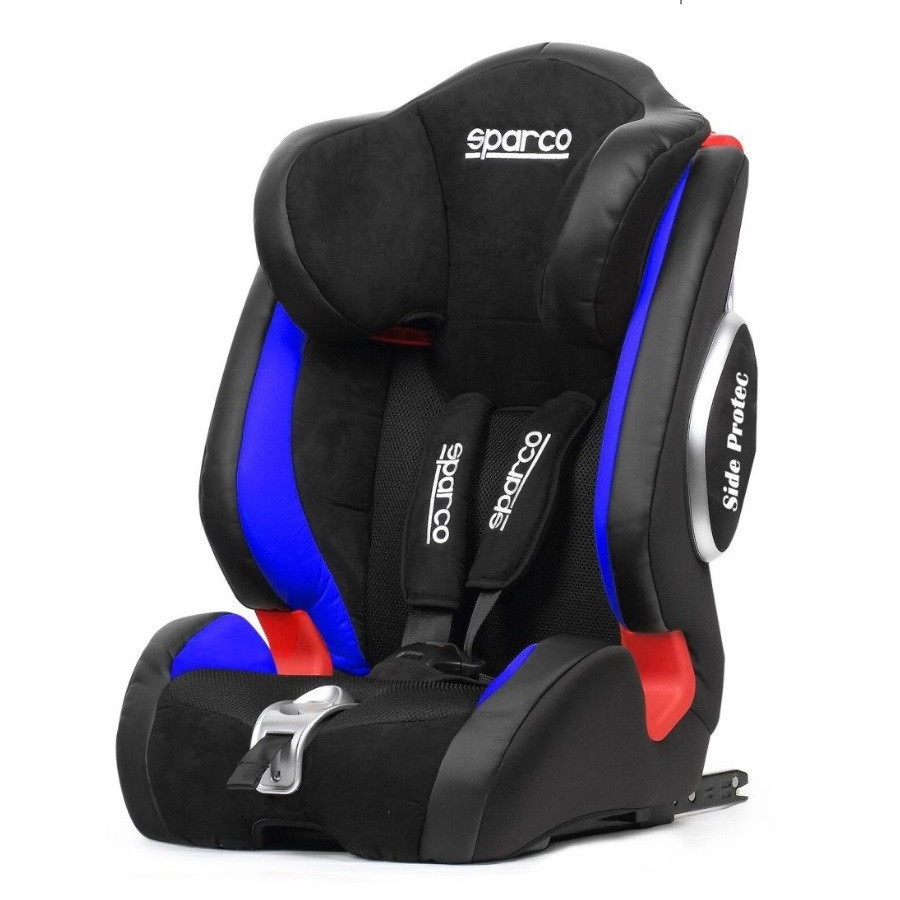 Детское автомобильное кресло Sparco F1000KI G123 PREMIUM ISOFIX 9-36kg Голубой