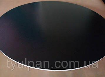 Подложка  усиленная круг белая  двп Д 30 см h 3 мм