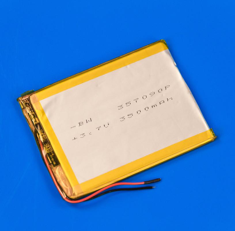 Аккумулятор для планшета 357090P 3,7V 3500mAh универсальный