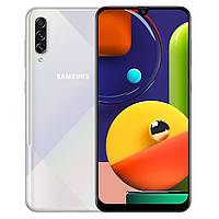 Смартфон Samsung Galaxy A50s 2019 SM-A507FD 6/128GB White, фото 1