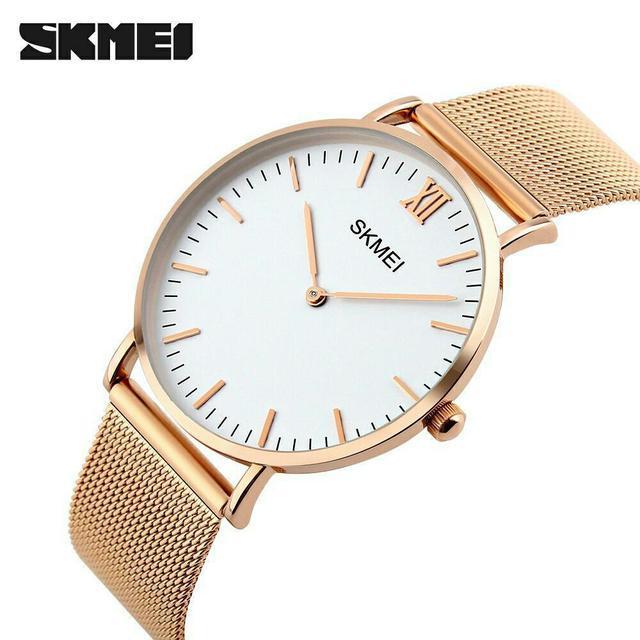 Skmei 1182 cruize золотые женские часы