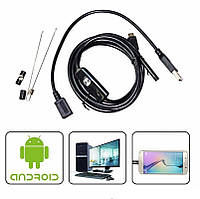 Камера Endoscope длина 2 m. ширина камеры 7mm под android