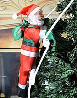 "Новогодний декор ""Санта Клаус на лестнице"" 60 см"