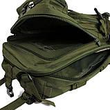 Тактический, военный, походный рюкзак Military. 25 L. Хаки. Милитари.  / T 423, фото 4