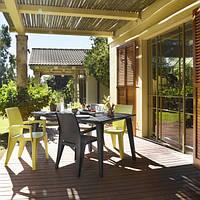 Набор садовой мебели Spring Lima Garden Dining Set из искусственного ротанга, фото 1