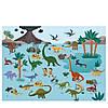 Набор многоразовых наклеек животный мир MiDeer   с игровыми полями, фото 6