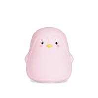 Силиконовый ночник Пингвин Розовый