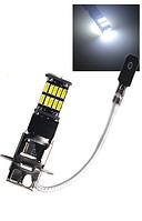 Светодиодная лампа H3 LED противотуманка (цена за 1 шт) LED 4014 26SMD 12V, автолампа для птф, ходовые огни