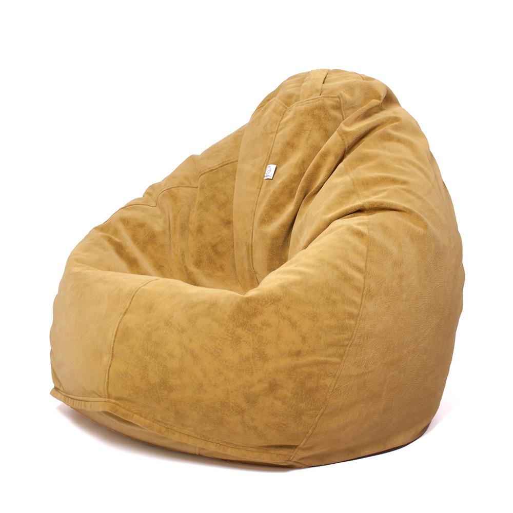 Кресло мешок Груша XXL   велюр Bellini curry