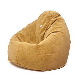 Кресло мешок Груша XXL | велюр Bellini curry