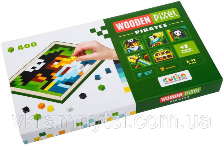 Дерев'яна піксельна мозаїка «Wooden mosaic 5» Pirates