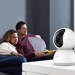 Ip камера видеонаблюдения с wifi Xiaomi Mijia 1080p поворотная 360 градусов (23877)