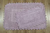 Набор ковриков Irya - Carmela  60*90+40*60 Лиловый