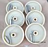 Комплект колес для коптильных рам с втулкой и болтом