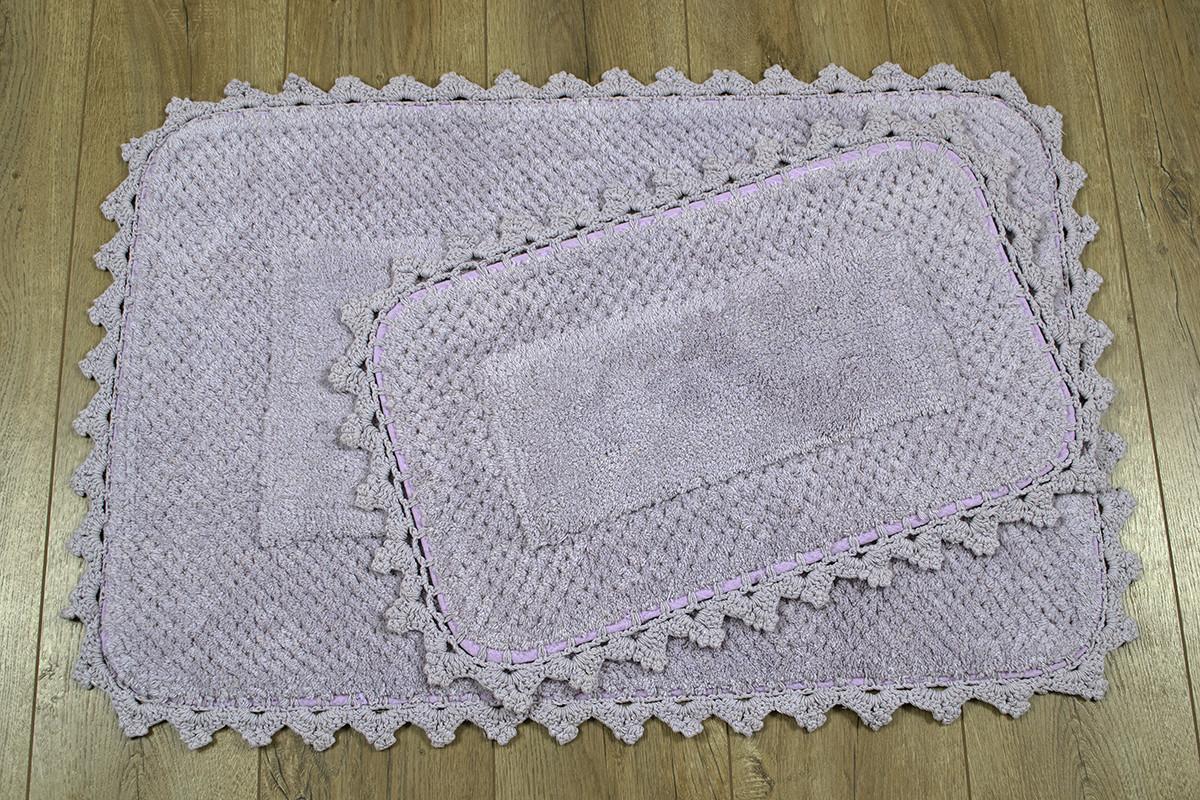 Набір килимків Irya - Carmela 60*90+40*60 Рожевий