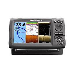 Эхолот Lowrance Hook 7 картплоттер четырехлучевой, меню на русском, цветной дисплей