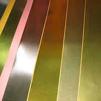 Ламинирование картона металлизированной и прозрачной пленкой