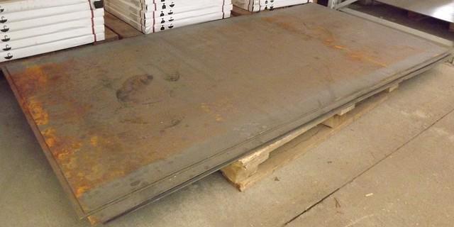 Лист сталевий г/к (гарячекатаний), 3-мм 1мХ2м