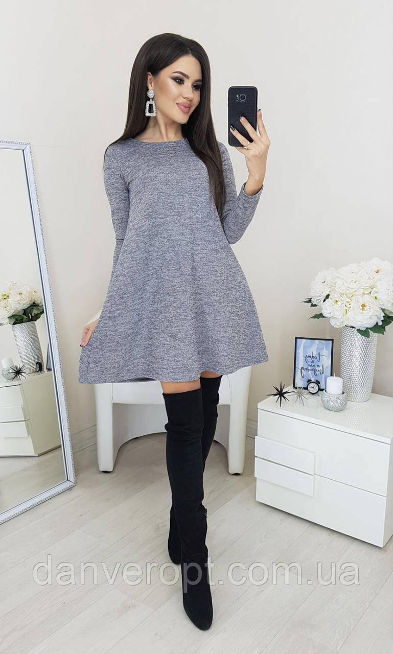 Платье женское модное стильное размер 42-48 купить оптом со склада 7км Одесса