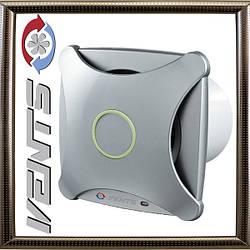 Вентилятор Вентс 100 Х К Л (алюминий матовый)