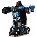 Игрушка машинка трансформер робот на пульте управления автобот Bugatti Robot Car, фото 4