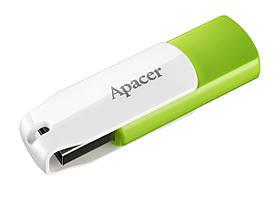 USB флешдрайв Apacer AH335 64GB Green/White